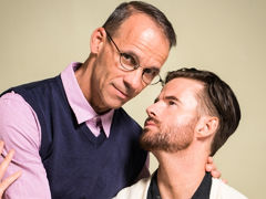 After his wife catches him jerking off to twink porn, Brendan Patrick visits his therapist, Rodney Steele. Brendan is ashamed and afraid his life is over. To help him attain to the root of his troubles, Rodney asks a series of questions. Their discussion