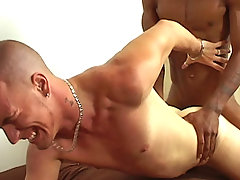 Interracial straight boys 69 each other