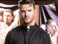 Father Brendan Patrick is having a deep conversation with himself about whether to follow his strong attraction for guys, or his love of God. He was t