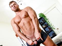 Brad, More massive He Cums, Scene 01