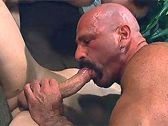 Horny Men Sucking & Fucking Each Other