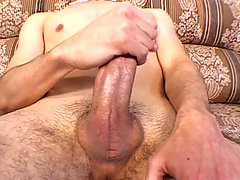 Athletic and sexy latino masturbating in front of the camera