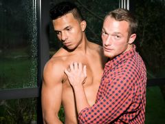 Tall, brown skinned stud Devon Felix cannot look to resist his urges and suddenly finds he's cheating on his girlfriend.   What makes this especially scandalous is not what he's doing, but who he's doing it with.  The instant Devon met his girlfriend's
