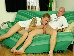 This cunning girl thought he'd be mad, but he actually loves the feel of this boner.
