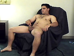 Brown hair and hard dick; this student will stroke it hard!