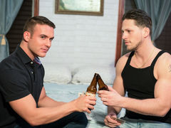 Sweet faced Killian James meets up with straight boyish sub Roman Todd for a secret afternoon tryst, those gentlemen yearn it bad. They yearn that hard cock pride sucking. Watch as Roman pounds Killian's hot, tight round ass and unleashes his load all ove