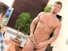 Long time since I've played with my tricked cards... This time, my bait is young bodybuilder Brad. One of the sexiest model on Maskurbate is back