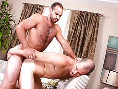 hairy horny hunks with huge cocks butt fuck until they dick water